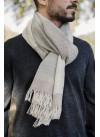 Grande écharpe pour homme Fuji en baby alpaga