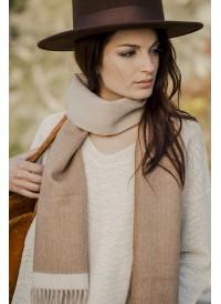 Baby alpaca scarf Tosca