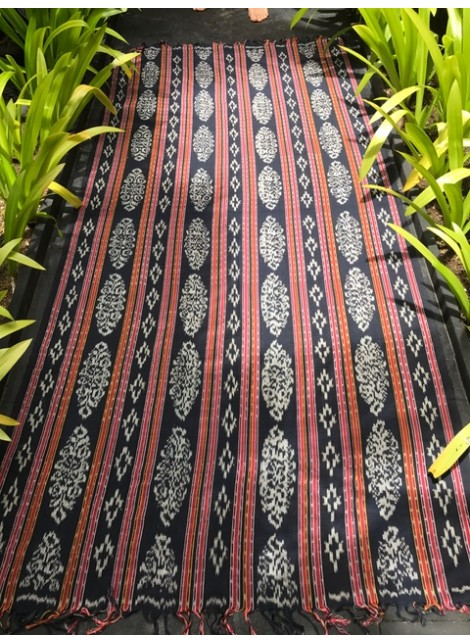 "Plaid Ikat ""Eko"""