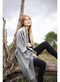 Maxi shawl - Unicolor Plaid